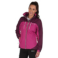 Regatta - Purple calderdale waterproof jacket