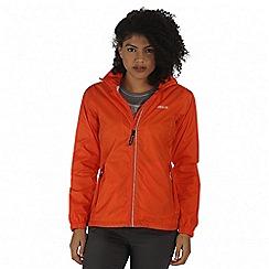 Regatta - Orange Corinne packaway waterproof jacket