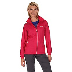Regatta - Pink corinne waterproof jacket