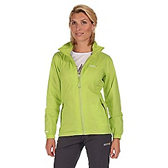 Regatta - Lime green corinne waterproof jacket
