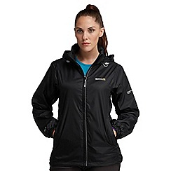 Regatta - Black corinne waterproof jacket