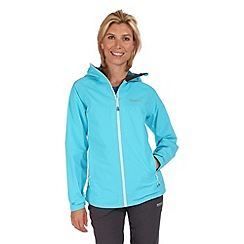 Regatta - Blue semita waterproof jacket