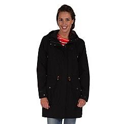 Regatta - Black ammi waterproof jacket