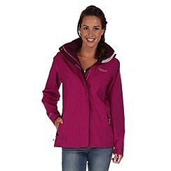 Regatta - Purple keeta stretch waterproof jacket