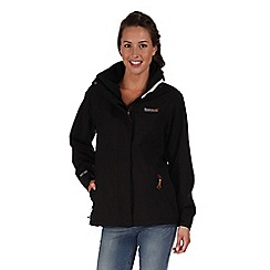 Regatta - Black keeta stretch waterproof jacket