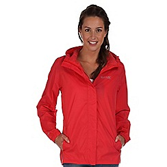 Regatta - Coral blush pack it waterproof jacket