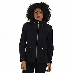Regatta - Navy Nardia waterproof jacket