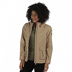 Regatta - Natural Nardia waterproof jacket