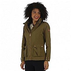 Regatta - Green Nardia waterproof jacket