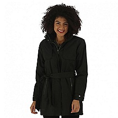 Regatta - Black Gracyn waterproof jacket
