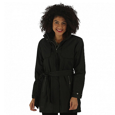 Regatta Black Gracyn waterproof jacket | Debenhams