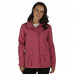 Regatta - Violet lanelle waterproof jacket