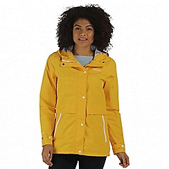 Regatta - Yellow Bayleigh waterproof jacket