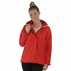 Regatta - Red Calyn waterproof stretch jacket