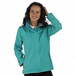 Regatta - Teal Calyn waterproof stretch jacket