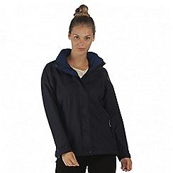 Regatta - Navy Calyn waterproof stretch jacket