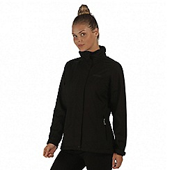 Regatta - Black Calyn waterproof stretch jacket