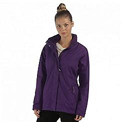 Regatta - Purple daysha waterproof jacket