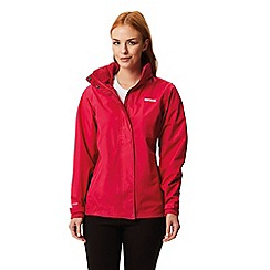 Regatta - Pink daysha waterproof jacket