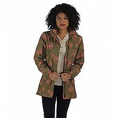 Regatta - Green pedrina waterproof jacket