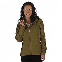 Regatta - Green Jacobella waterproof jacket
