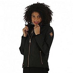 Regatta - Black Jacobella waterproof jacket
