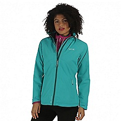 Regatta - Teal semita waterproof jacket