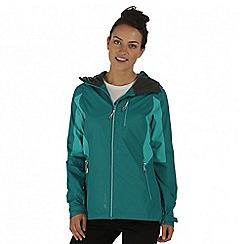 Regatta - Green cross penine hybrid waterproof jacket