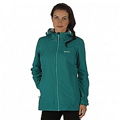 Regatta - Green Hamara waterproof jacket
