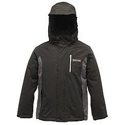 Regatta - Black/grey buggie insulated jacket