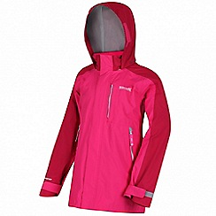 Regatta - Pink 'Quazer' waterproof jacket