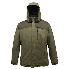 Regatta - Green/bayleaf denvers insulated jacket