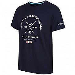 Regatta - Navy Stellan printed t-shirt