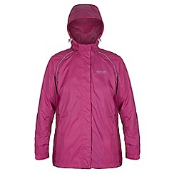 Regatta - Cerise womens packaway jkt