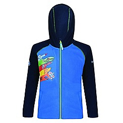 Regatta - Kids Blue 'Hyperspeed' thunderbird fleece