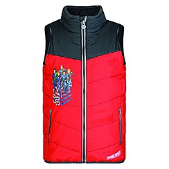 Regatta - Kids Red 'Earthbreaker' thunderbird bodywarmer
