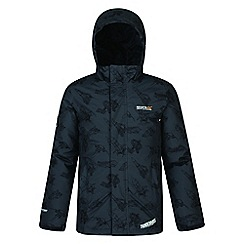 Regatta - Grey 'Dozer' printed thunderbird jacket