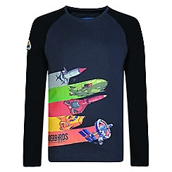 Regatta - Kids Grey 'Peril' thunderbird t-shirt