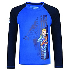 Regatta - Kids Blue 'Peril' thunderbird t-shirt