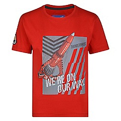 Regatta - Kids Red 'Heatshield' thunderbird t-shirt
