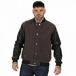 Regatta - Grey 'Cornerhouse' bomber jacket