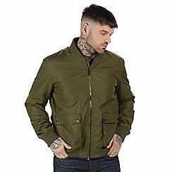Regatta - Green 'Castlefield' bomber jacket