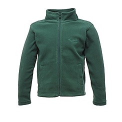 Regatta - Bottle green kids brigade fleece
