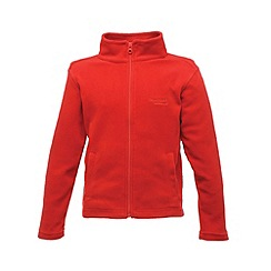 Regatta - Classic red kids brigade fleece