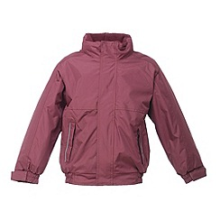 Regatta - Burgundy kids dover jacket