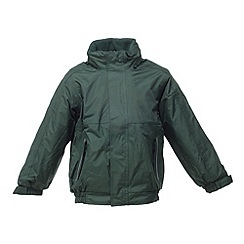 Regatta - Dark green kids dover jacket