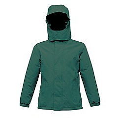 Regatta - Bottle green kids squad jacket