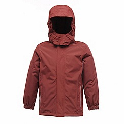 Regatta - Burgundy kids squad jacket