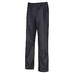 Regatta - Black stormbreak overtrouser