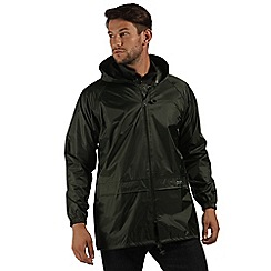 Regatta - Dark olive stormbreak jacket